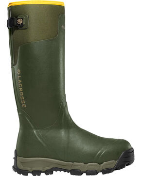 LaCrosse Men's 800G Alphaburly Pro Hunting Boots, Dark Green, hi-res