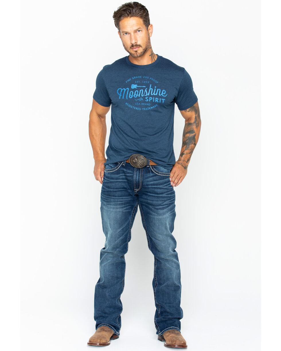 Moonshine Spirit Men's 200 Proof Short Sleeve T-Shirt, Navy, hi-res