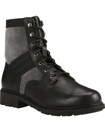 Ariat Men's Graphite Easy Street Lace-Up Boots - Round Toe , , hi-res