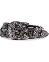 Shyanne® Women's Crystal Studded Belt, , hi-res