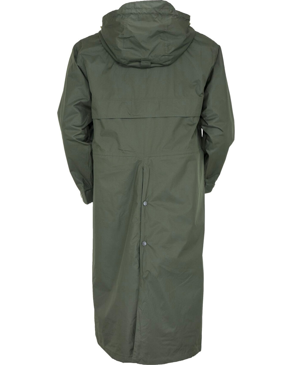 Outback Unisex Pak-A-Roo Duster Jacket, Olive, hi-res