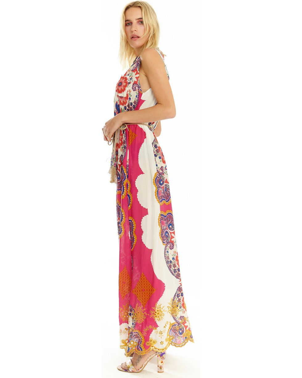 Aratta Women's Love Of My Life Dress, Fuscia, hi-res