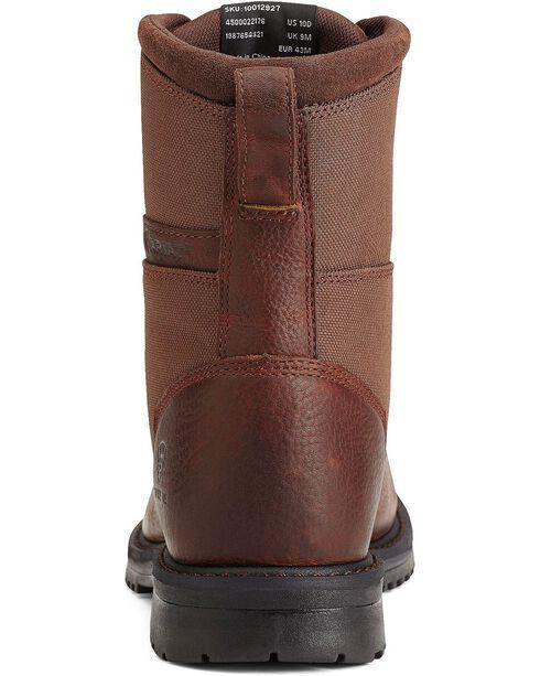 "Ariat Men's RigTek 8"" Wide Square Toe CT Work Boots, Brown, hi-res"