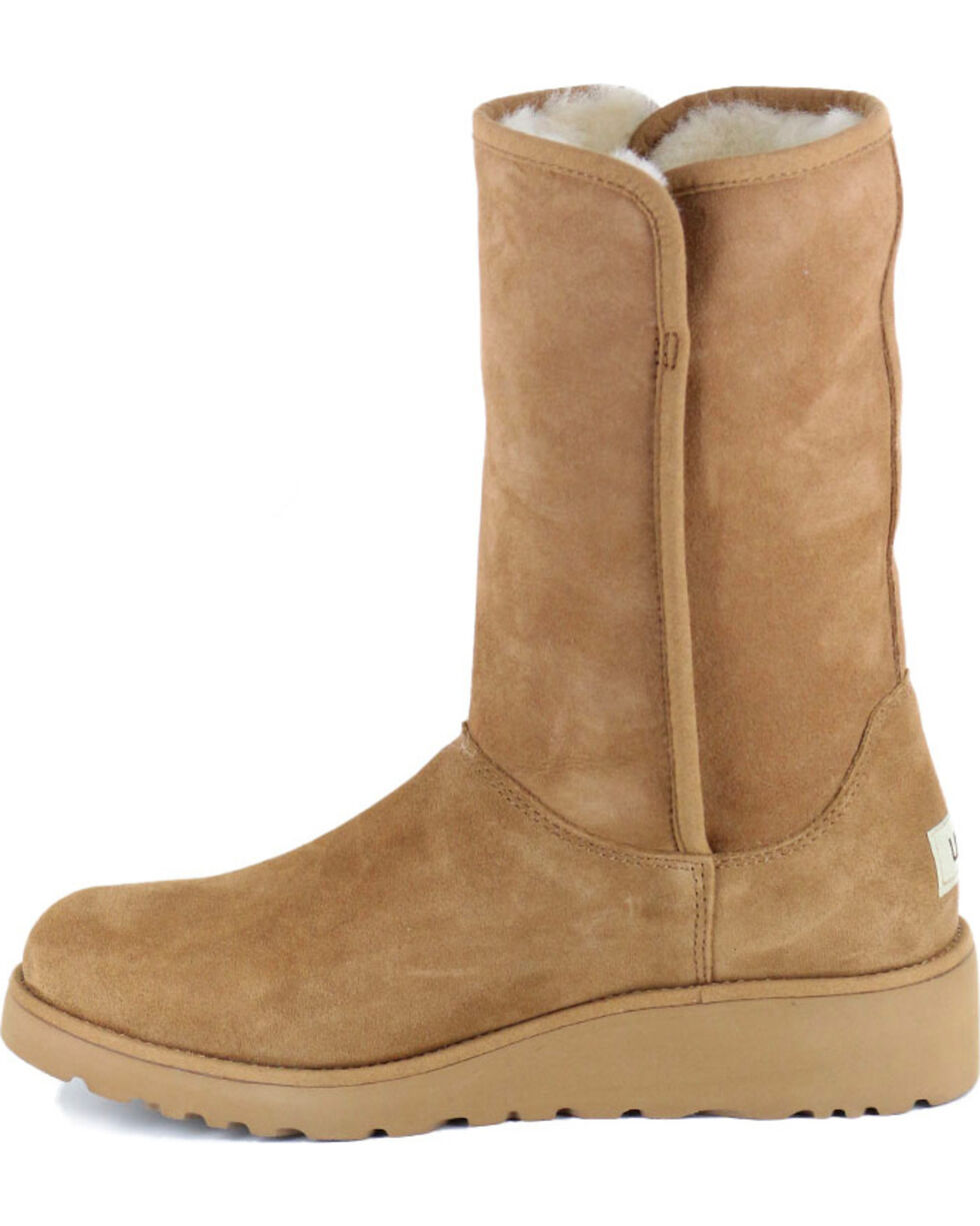 UGG® Women's Amie Classic Slim Water Resistant Boots, Chestnut, hi-res