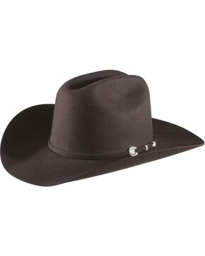 Stetson 4X Corral Felt Hat, Black, hi-res