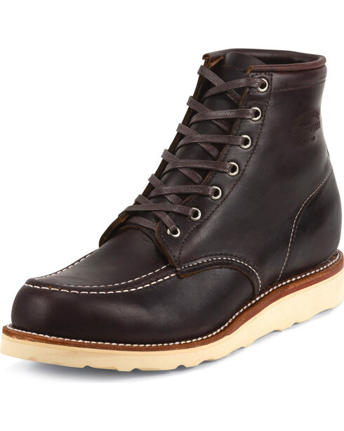 Chippewa Men's  General Utility Boots, Cognac, hi-res