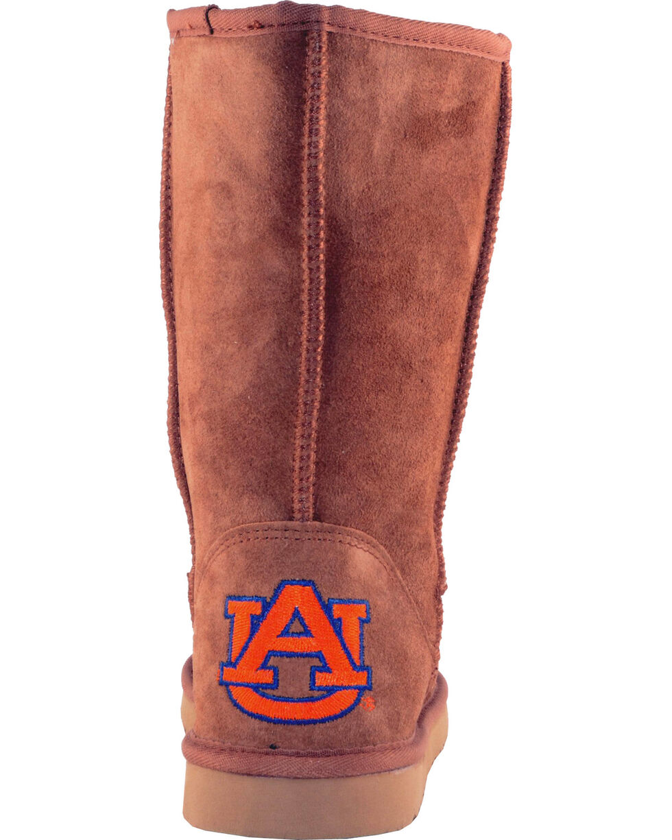 Gameday Boots Women's Auburn University Lambskin Boots, Tan, hi-res
