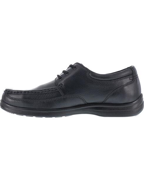 Florsheim Men's Lace Up Dress Shoes - Steel Toe , Black, hi-res