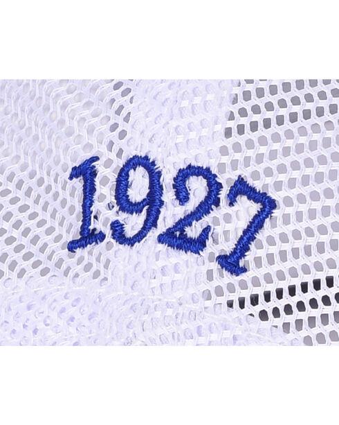 Resistol Men's Blue/White Mesh Back Patch Cap, Blue, hi-res