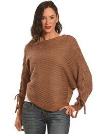 HYFVE Women's Braided Sleeves Sweater, , hi-res