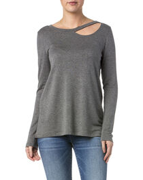 Miss Me Women's Simple Long Sleeve Knit Top, , hi-res