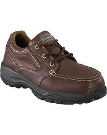 Rockport Works Extreme Light Casual 3-Eye Oxford Work Shoes - Composition Toe, , hi-res