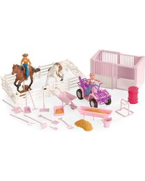 Stall & Four-Wheeler Stable Toy Set, , hi-res