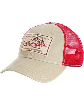Wrangler Men's Wrangler Patch Baseball Cap , Beige/khaki, hi-res