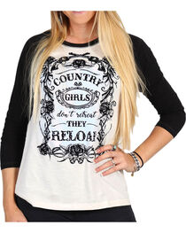 Shyanne Women's Baseball Style Graphic Tee, , hi-res