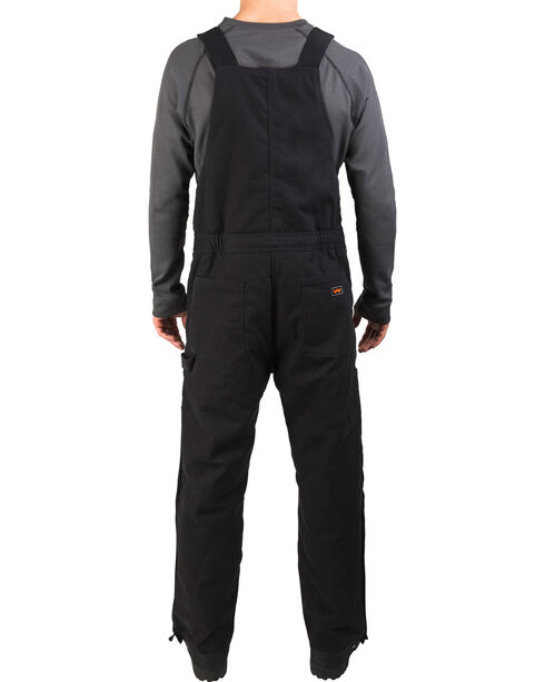 Walls Frost Blizzard Pruf Insulated Bib Overalls , Black, hi-res