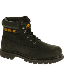 Caterpillar Colorado Boots - Round Toe, Black, hi-res