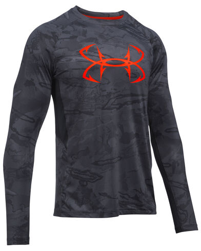 Under armour men 39 s coolswitch thermocline fishing shirt for Under armour fishing