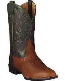 Ariat Heritage Stockman Cowboy Boots, , hi-res