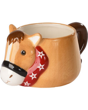 BB Ranch Horse Coffee Mug, Brown, hi-res