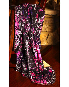 Carstens Muddy Girl Throw Blanket, Purple, hi-res
