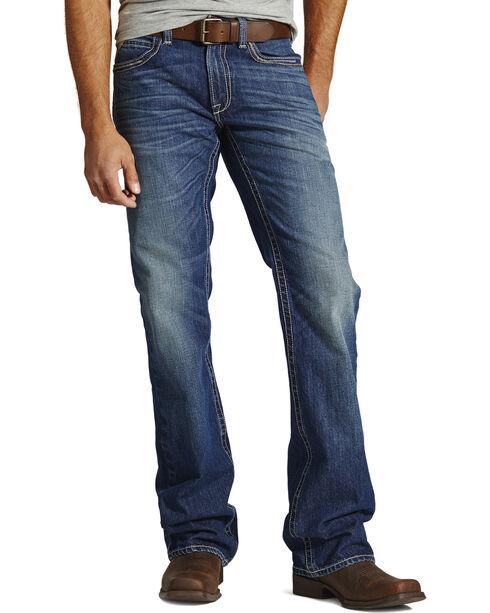 Ariat M6 Rockridge Slim Fit Jeans - Boot Cut - Big and Tall, Denim, hi-res