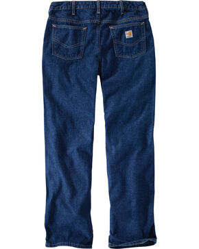 Carhartt Women's Flame-Resistant Work Jeans, Denim, hi-res