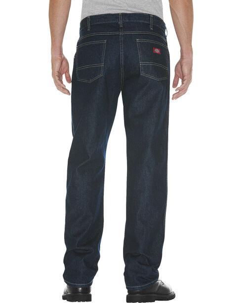 Dickies Men's 5-Pocket Relaxed Fit Jeans , Dark Denim, hi-res