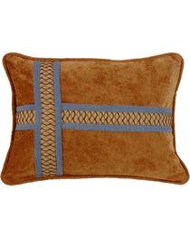 HiEnd Accents Multi Lexington Cross Design Pillow, , hi-res