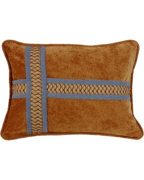 HiEnd Accents Multi Lexington Cross Design Pillow, Multi, hi-res