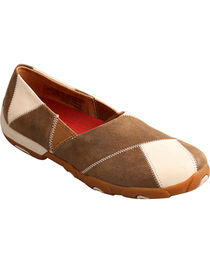 Twisted X Women's Slip on Driving Moccasins - Round Toe, , hi-res