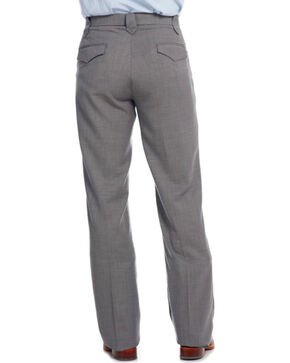 Circle S Men's Steel Ranch Dress Slacks, Steel, hi-res