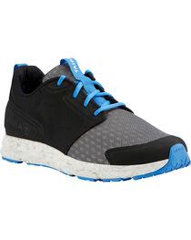 Ariat Men's Fuse Charcoal Shoes, Black, hi-res