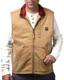 Walls Men's Pecos Vintage Duck Vest, , hi-res