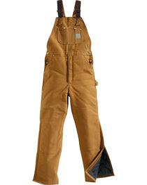 Carhartt Men's Artic Quilt Lined Bib Overalls, , hi-res