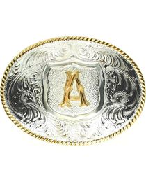 "Crumrine Initial ""A"" Buckle, , hi-res"