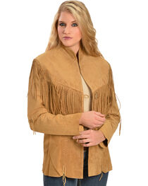 Scully Women's Fringe Jacket, , hi-res