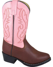 Smoky Mountain Girls' Denver Western Boots - Round Toe, , hi-res