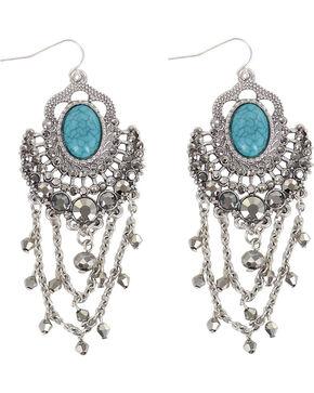 Shyanne® Women's Stone Earrings , Silver, hi-res