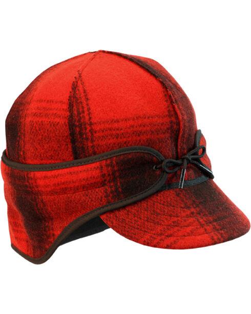 Stormy Kromer Men's Red & Black Plaid The Rancher Cap, Multi, hi-res