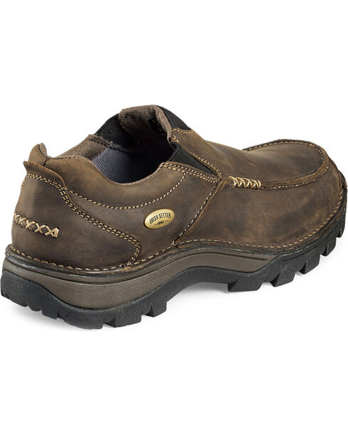 Irish Setter by Red Wing Shoes Men's Borderland Slip-On Shoes , Brown, hi-res