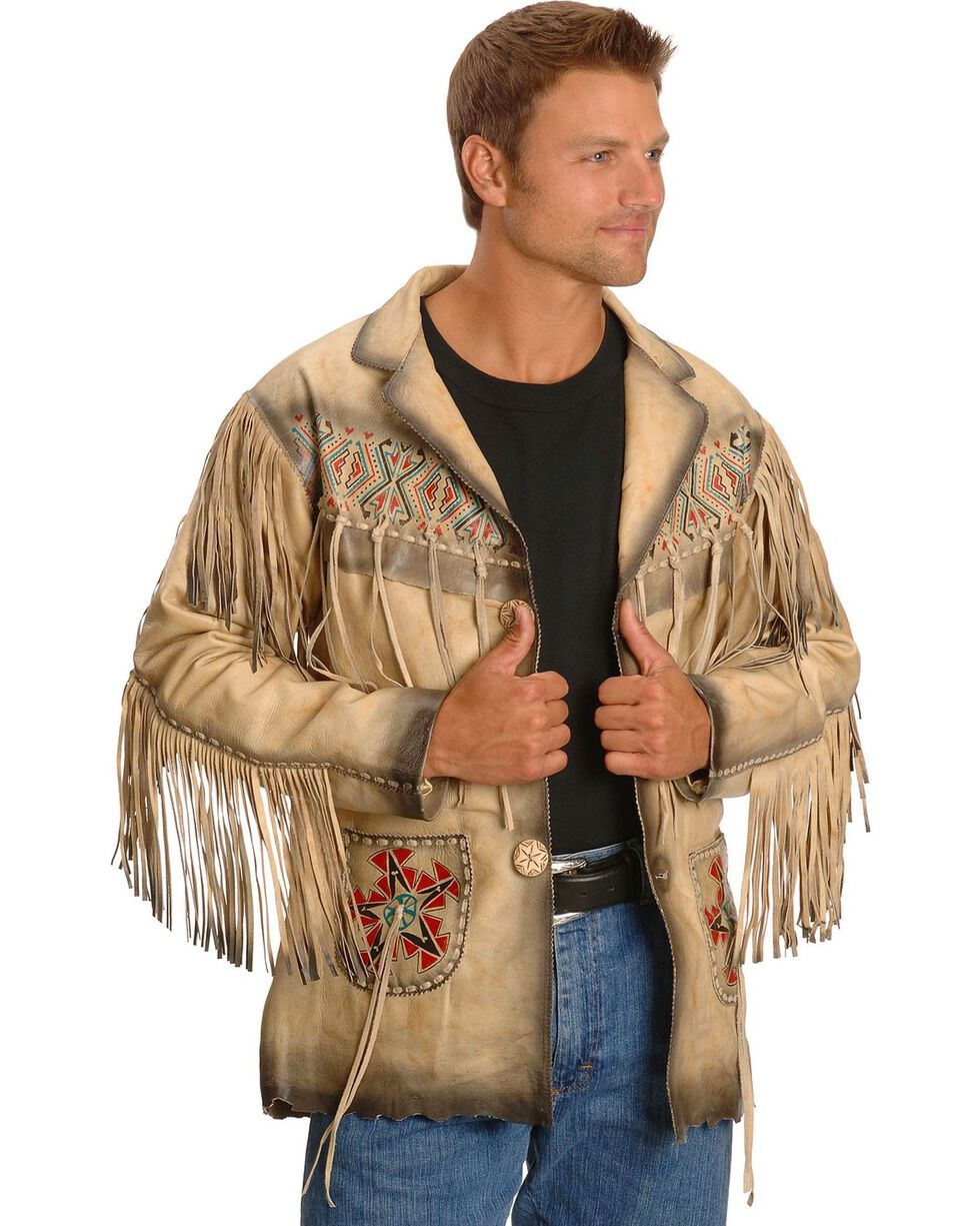 Kobler Maricopa Leather Jacket, Cream, hi-res