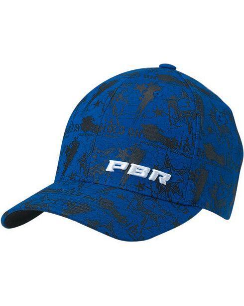 PBR Hold On Flex Fit Cap, Blue, hi-res