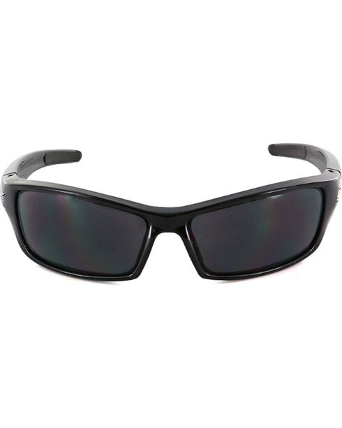 Edge Eyewear Reclus Safety Sunglasses, Black, hi-res