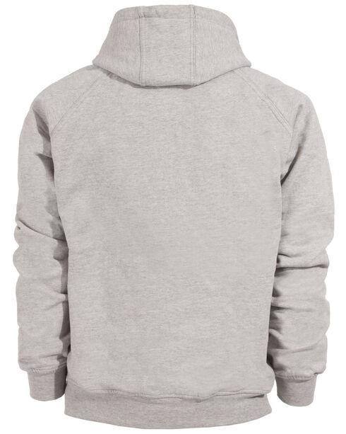 Berne Original Fleece Hooded Pullover - Tall 3XT and 4XT, Grey, hi-res
