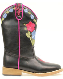 Blazin Roxx Girls' Youth Juniper Bold Flower Embroidered Boots, , hi-res