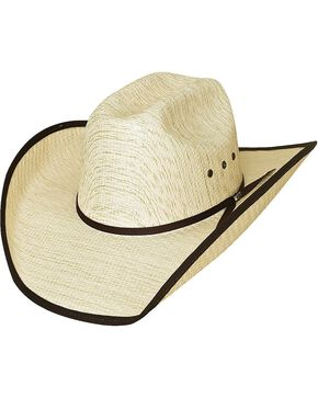 Bullhide Kid's Qualified Straw Hat, Tan, hi-res