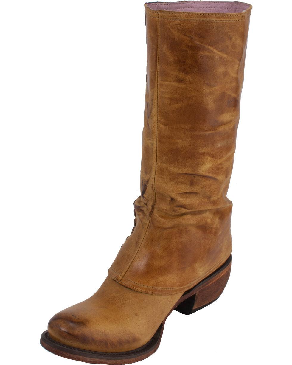 Lane Women's El Paso Western Boots, Tan, hi-res