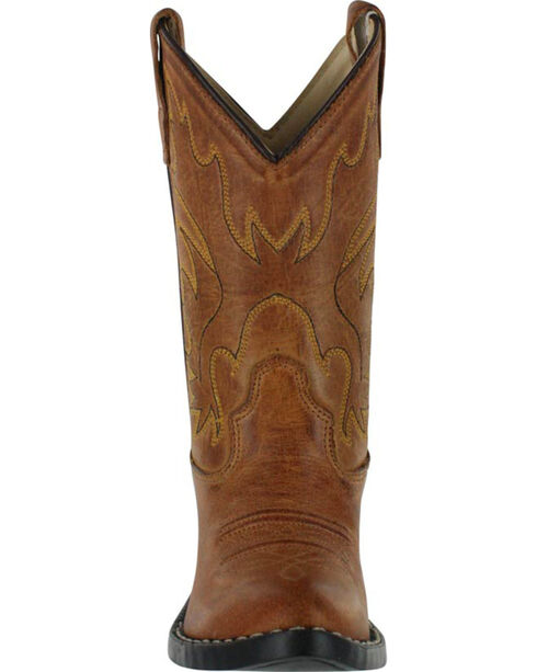 Cody James Boys' Western Boots - Pointed Narrow Toe , Tan, hi-res