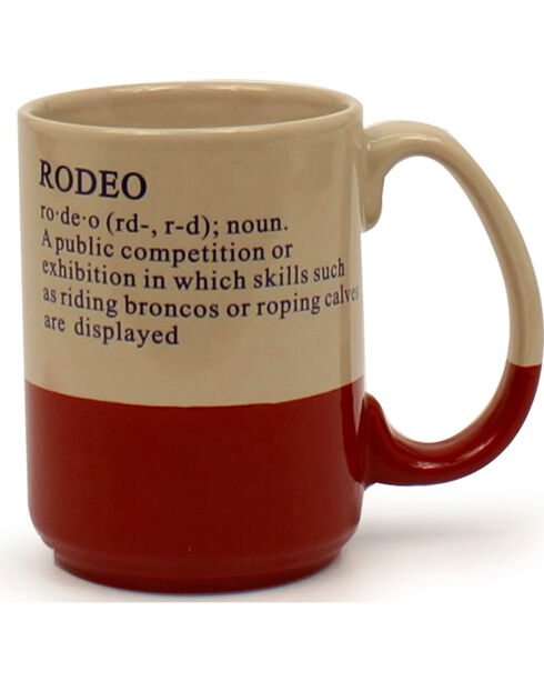 M&F Western Rodeo Mug, No Color, hi-res